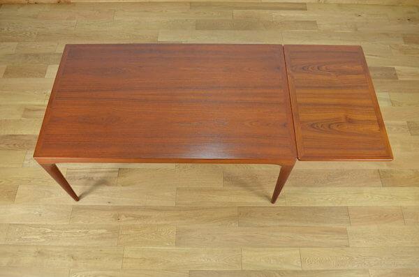 Table Danoise en Teck Johannes Andersen pour Uldum Møbelfabrik 1960