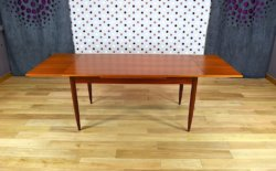 table scandinave en teck 1960 10