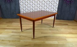 table scandinave en teck 1960 8