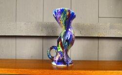 Vase en Céramique A. Dressinval Zoomorphe Vintage 1960