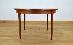 Table Design Scandinave en Teck Vintage 1960
