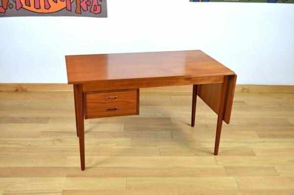 Bureau Scandinave en Teck Danish Design Arne Vodder 1960 H. Sigh & Son's Mobelfabrik