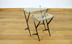 Duo de Tables Basses Design Italien Angelo Ostuni 1950