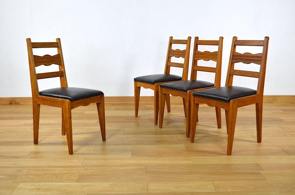 chaise designer francais vintage