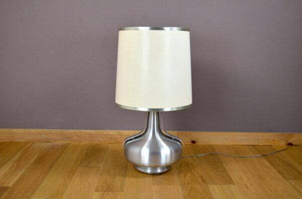 Lampe Vintage Alu & Chrome des Années 70