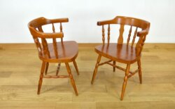 Paire de Fauteuils Design Vintage Baumann