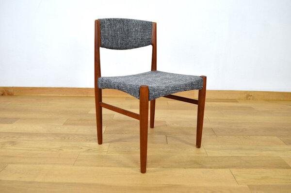 Suite de 4 Chaises Scandinaves Vintage 1960 Édition Glostrup