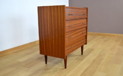 Commode Vintage 1960 en Acajou