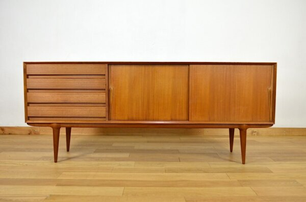 Enfilade Danoise Vintage de Gunni Omann 1960 Homann jun's mobelfabrik