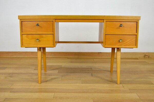 Bureau Vintage & Pieds Compas Ekawerk 1960
