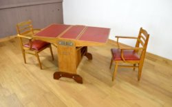 Bureau Vintage en Chêne Productions Raclem 1950