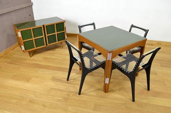 Originale Table de Repas de Georges Tigien Vintage 1960 Meubles Pradera