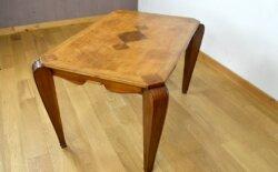 Table Art-Déco Bi-Ton 1930 / 1940