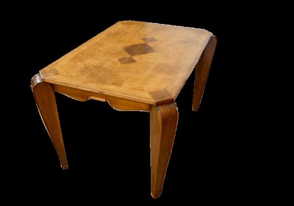 table bureau art déco