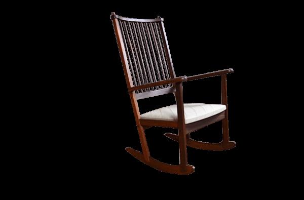 Rocking Chair Designer Yngve Ekstrom Éditeur Swedese 1960