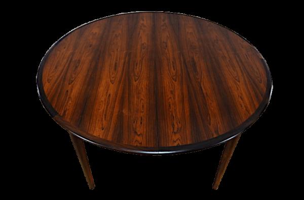 Table Danoise en Palissandre de Rio Skovmand & Andersen Vintage 1960