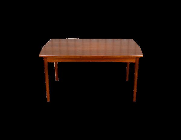 Table Rectangle Danoise en Teck Vintage 1960