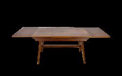 Table de Repas en Chêne 2 Allonges René Gabriel 1950