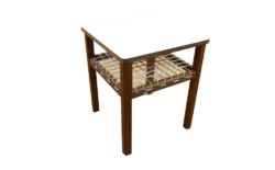 table basse vintage georges tigien scoubidou