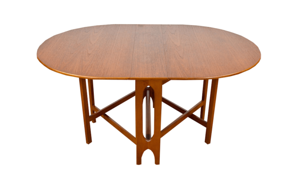 Table Pliante Scandinave en Teck Années 60
