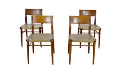 Chaises Vintage de Georg Leowald Éditées par Wilkhahn 1950