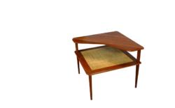 Table Basse Danoise en Teck de Peter Hvidt Vintage 1960