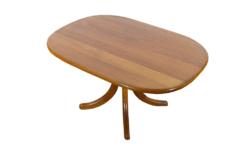 Table Basse Scandinave en Teck Vintage 1960