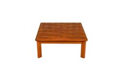 Table Basse de Salon Scandinave en Palissandre de Rio Vintage 1960