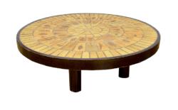 Table Basse en Céramique Modèle Garrigue 1960 Roger Capron