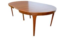 Table de Repas Scandinave lb Kofod Larsen Design Danois