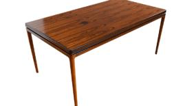 Table en Palissandre de Rio Johannes Andersen Éditeur CHR Linneberg 1960