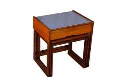 Tables Gigogne Design Scandinave en Teck Vintage 1968