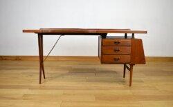 Bureau Vintage de Louis Van Teeffelen Édition Webé 1960